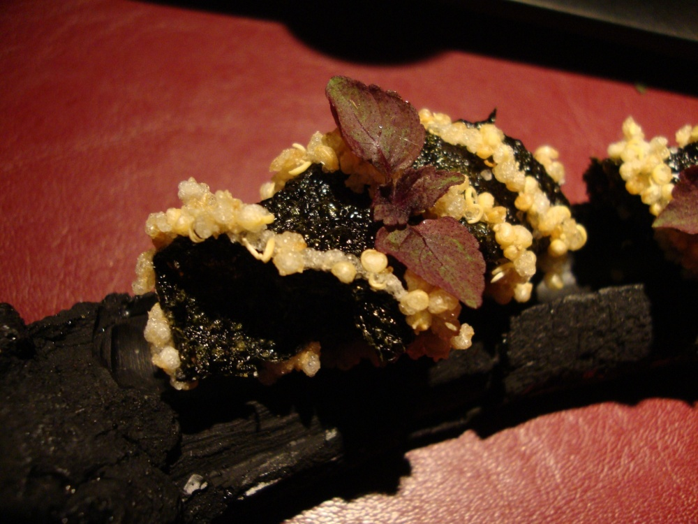 Crispy Seaweed and Quinoa