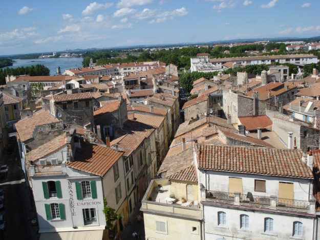 A view of Arles