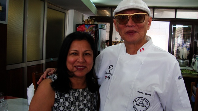 With Chef Javier Wong
