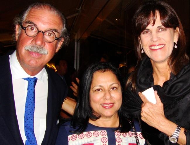 With Sandra and Ugo