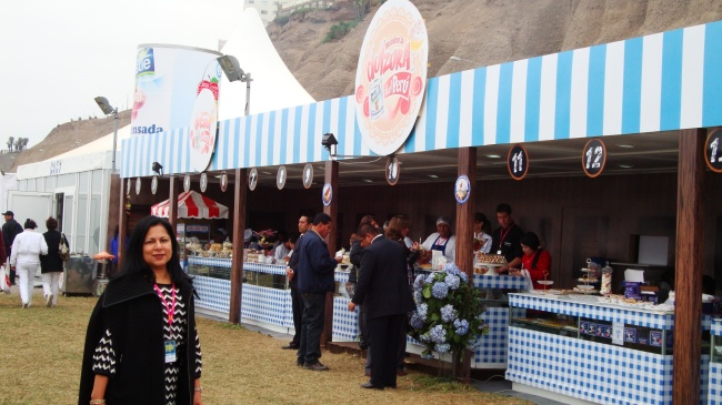 The Nestlé booth at Mistura 2013