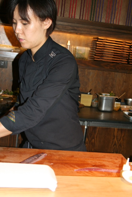 Kyoki Li, Head Chef of the Japanese menu