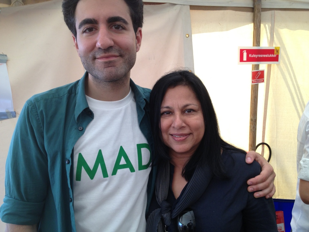 With Ali Khurshat Altinsoy of the MAD Symposium