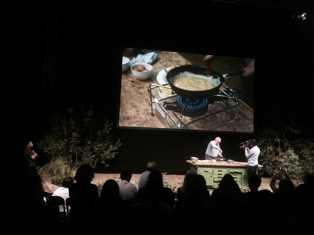 Pierre Koffman cooks an omelette