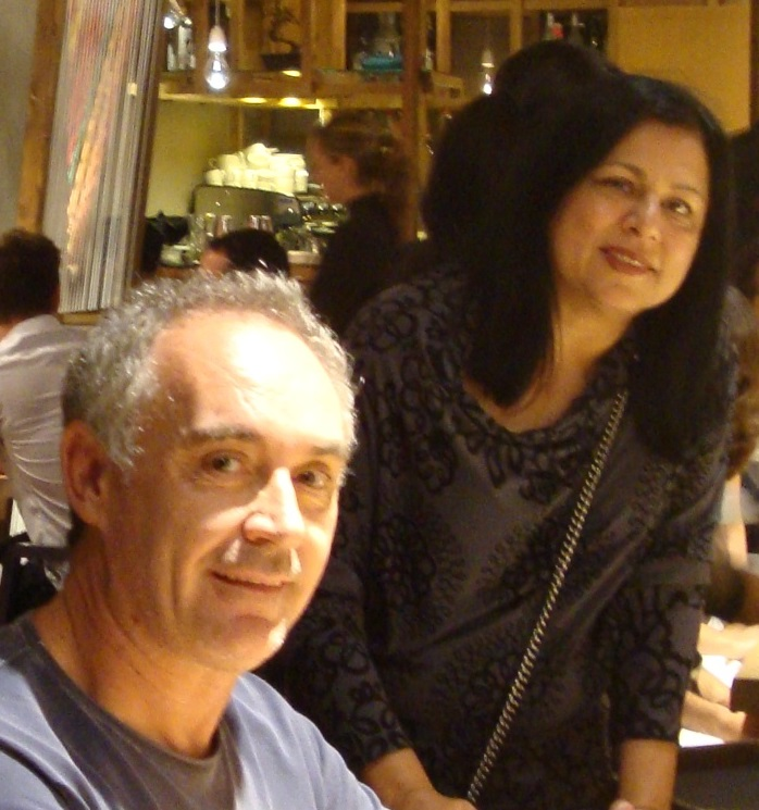 With Ferran Adria at Pakta