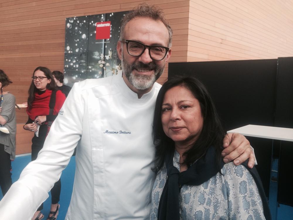 With Chef Massimo Bottura