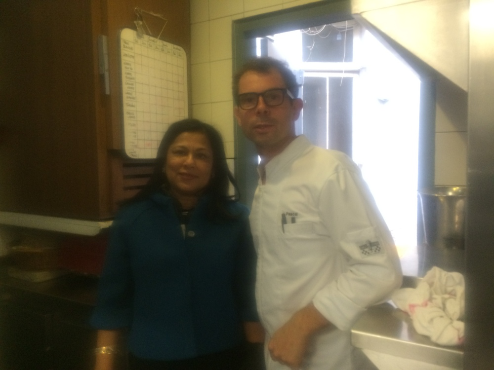 With Chef Pascal