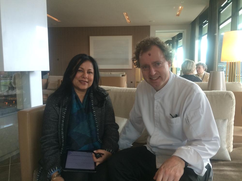 With Chef Sven Elverfeld