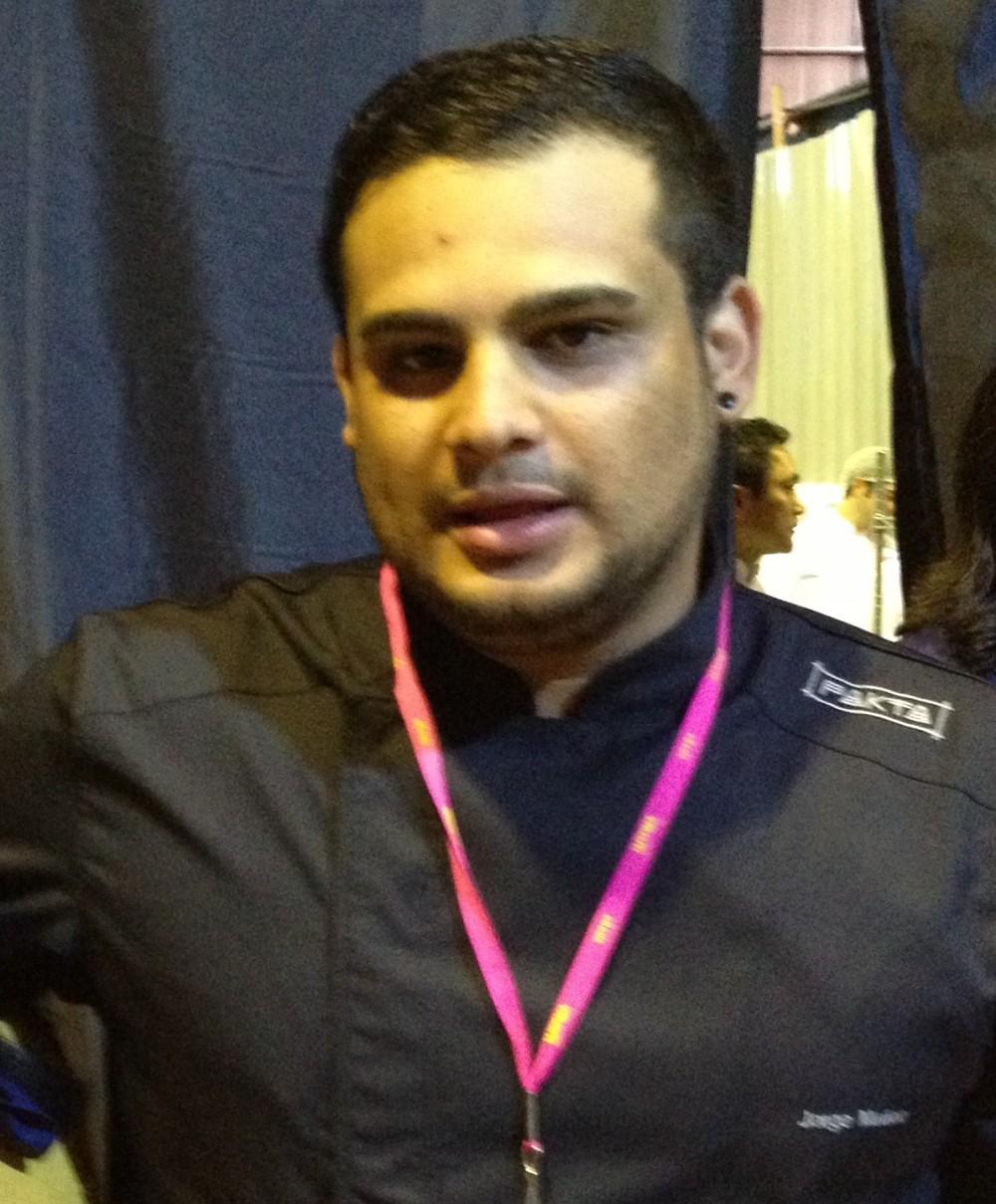 Chef Jorge Munoz