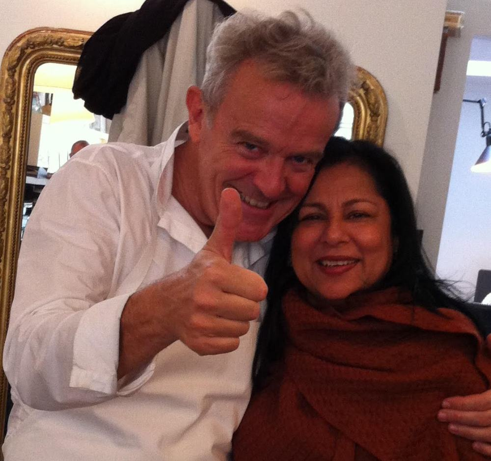 With Chef Alain Passard