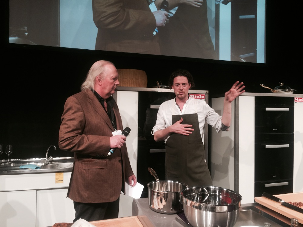 On stage at Chef Sache