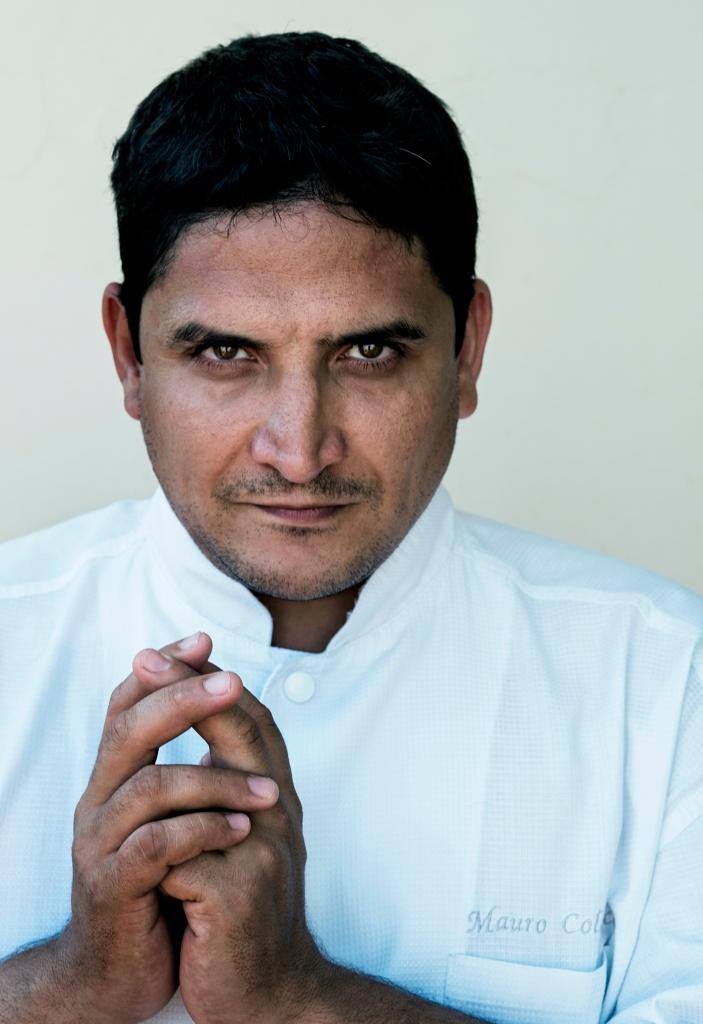 Chef Mauro Colagreco. Photo by Per-Anders Jorgensen