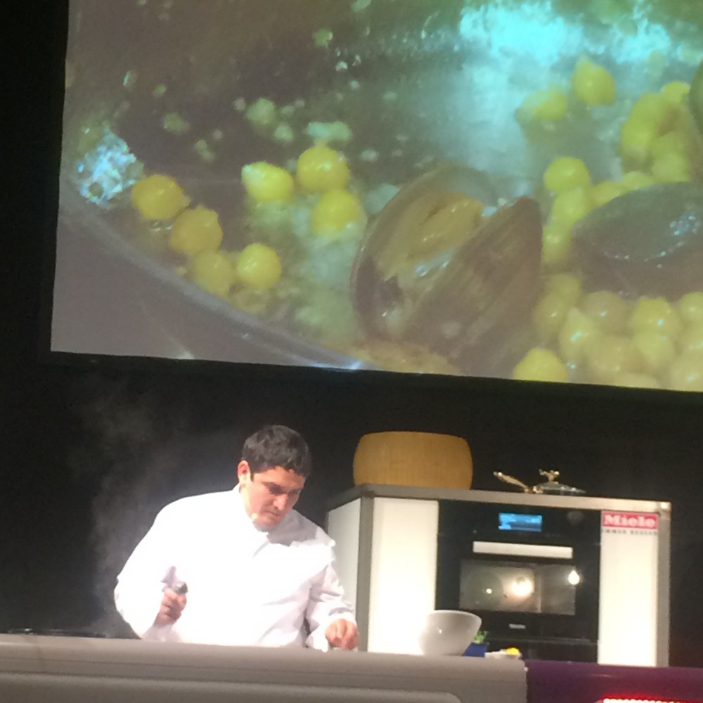 Onstage At Chef Sache in Cologne