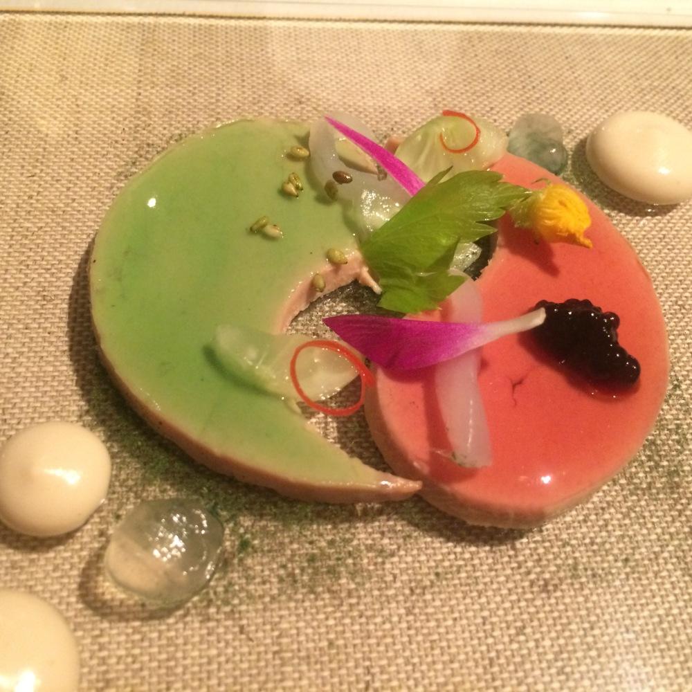 Yin and Yang foie-gras