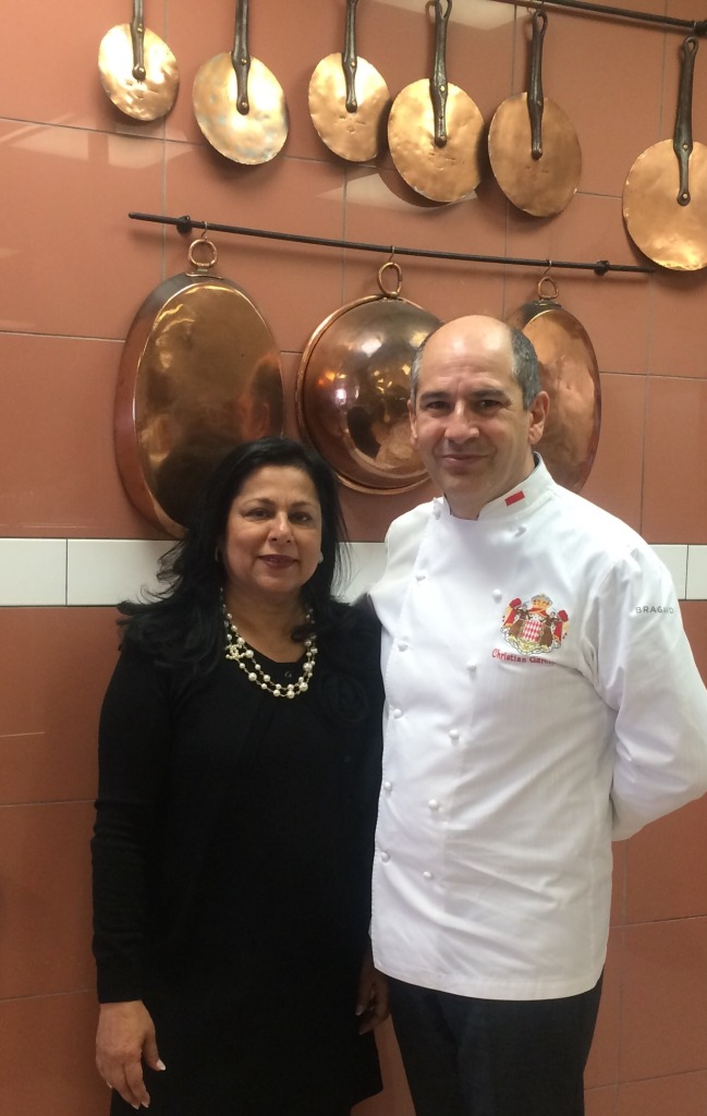 With Chef Garcia