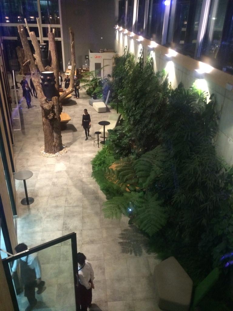 Reception area of Azurmendi