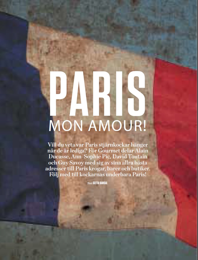 Paris - Swedish Gourmet 1