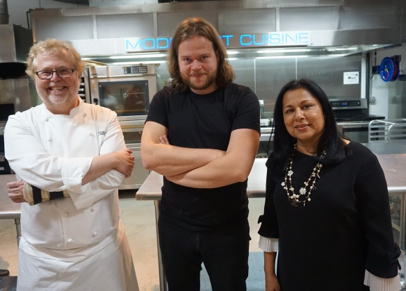 With Chefs Nathan Myhrvold and Magnus Nilsson