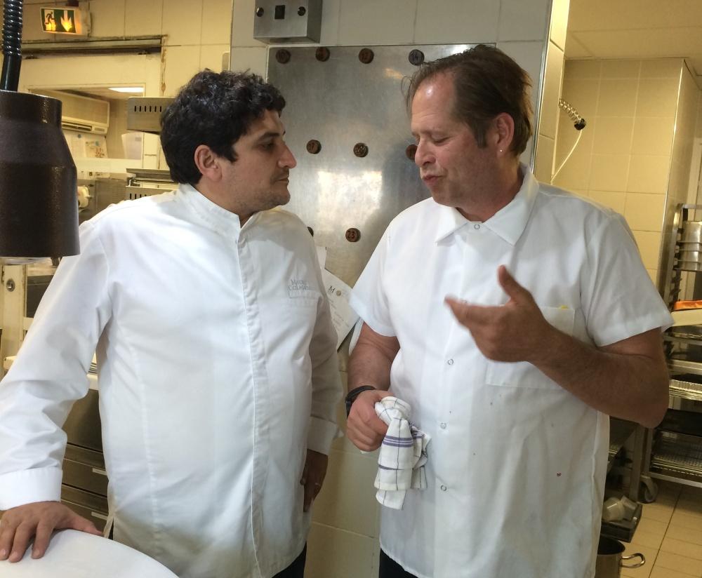 David Kinch and Mauro Colagreco