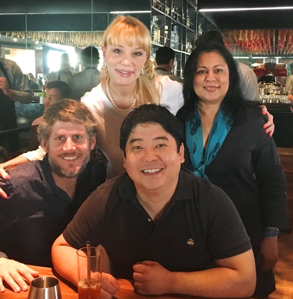 With Franco Kisic, Astrid Gutsche, Chef Mitsuharu at Maido