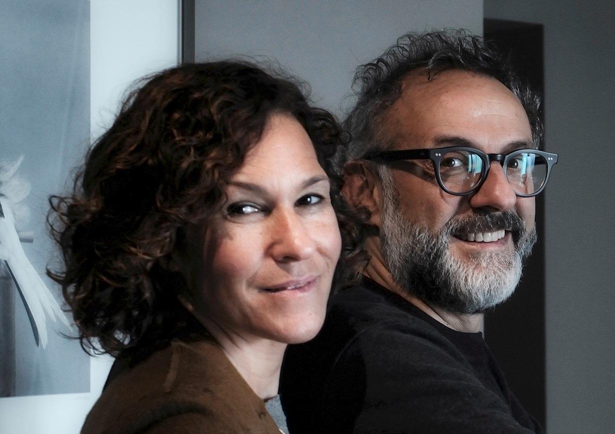 Lara Gilmore and Chef Massimo Bottura